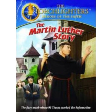 Torchlighters- Martin Luther Story Front Cover