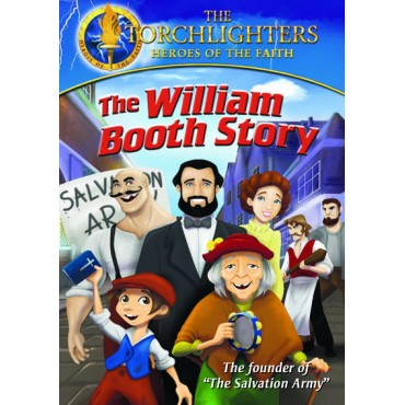 Torchlighters- William Booth Story Front Cover