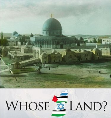 Whose Land? Front Cover