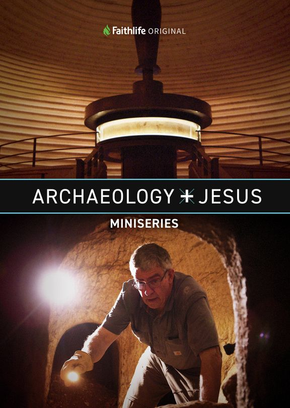 Archaeology + Jesus Front Cover